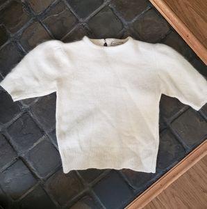 Vintage Angora/Lambswool blend Eaton sweater